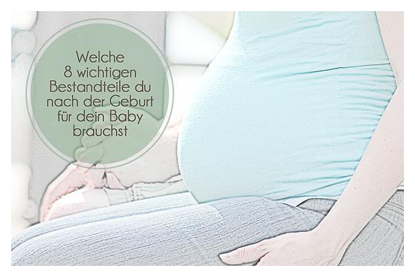Kliniktasche fürs Baby